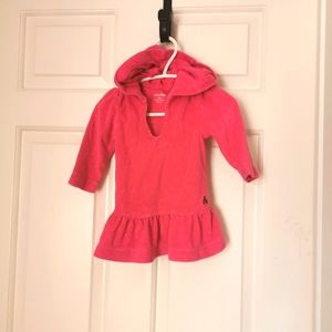 2/$25 Gymboree Terry cloth sweater /tunic size 3-6 m